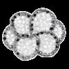 Купити підвіску фіаніт 8П1040 - Срібний шлях