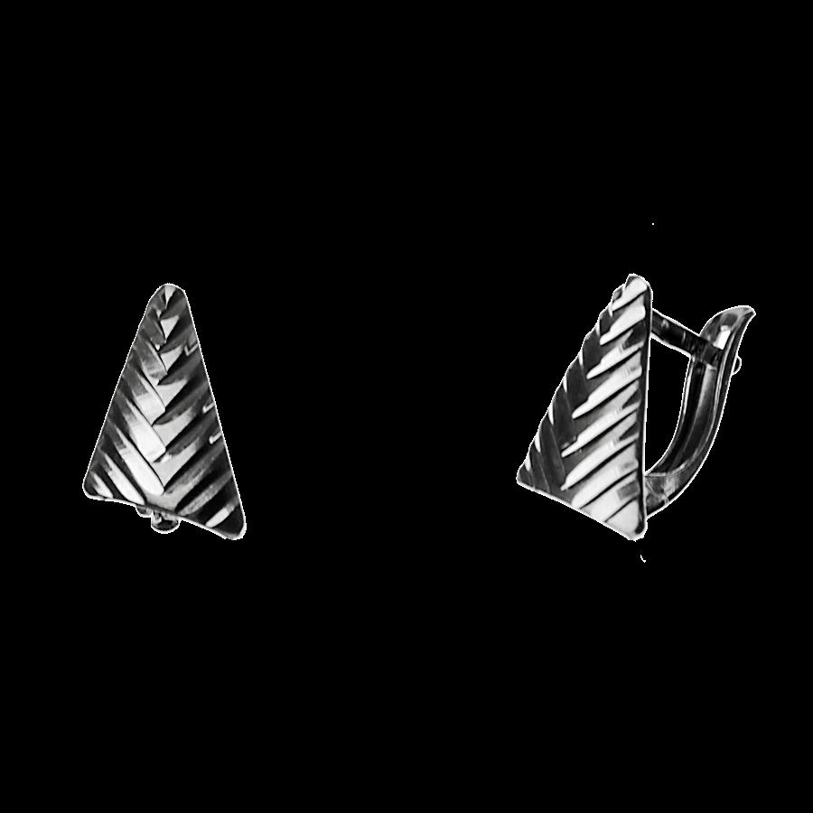 Купити сережки англійський замок 5С165, пробою 925 - Срібний шлях
