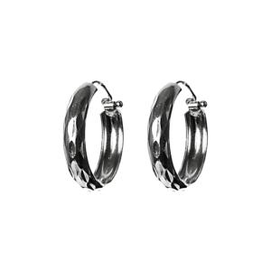 Купити сережки кільця 5С385, пробою 925 - Срібний шлях