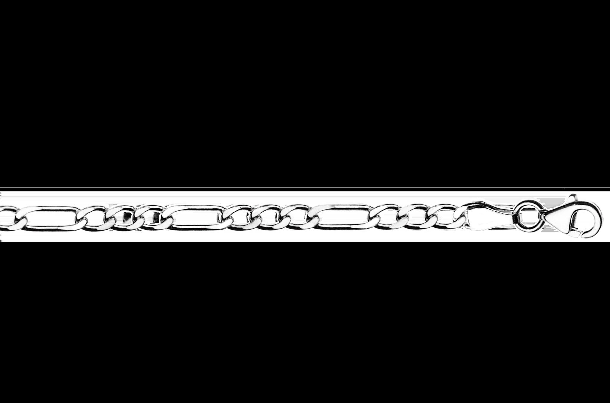 Купити браслет Фігаро 1Ф450, проба 925