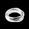 Купити Каблучку срібна три кільця з'єднані в одне