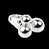 Купити Каблучку срібна три шара розмір регулюється