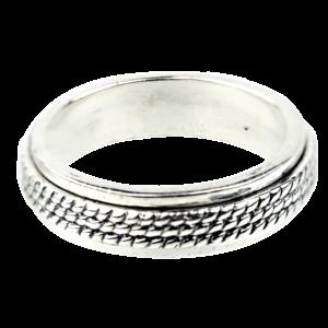 Купити Каблучку срібна антистрес 5к720-805