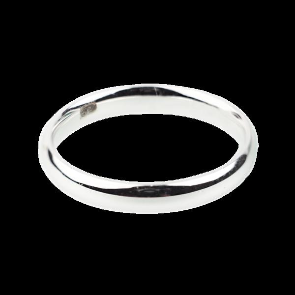 Купити Каблучку срібна шлюбна 6к215