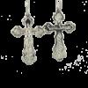 Купити Підвіску хрест П034, пробою 925, срібло для жінок та чоловіків