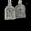 Купити Підвіску ладанка Богородиця Казанська П1008, пробою 925, срібло для жінок