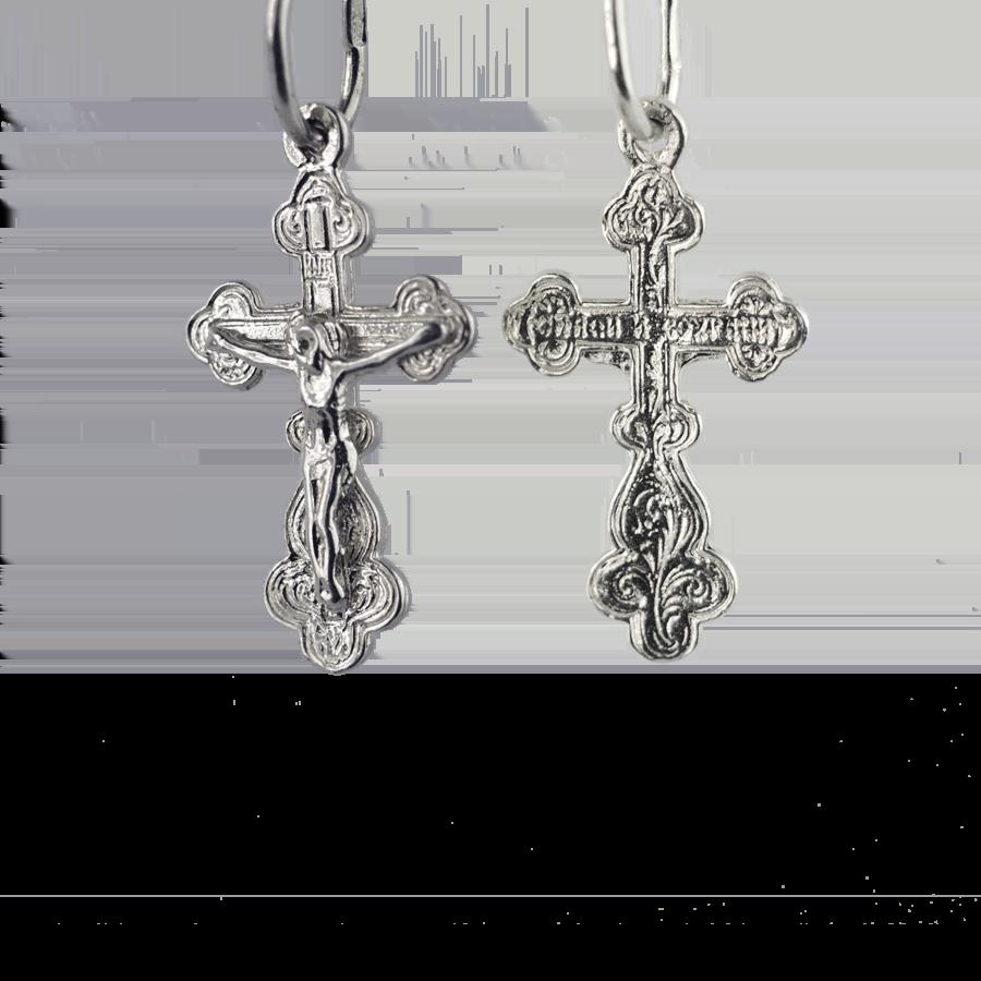 Купити Підвіску хрест 3П90, пробою 925, срібло для жінок та чоловіків