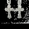 Купити Підвіску хрест 3П90а, пробою 925, срібло для жінок та чоловіків