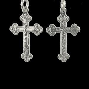 Купити Підвіску хрест 3П225, пробою 925, срібло для жінок та чоловіків