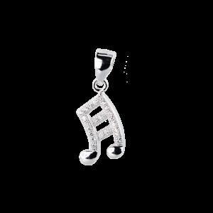 Купити Підвіска нота оздоблена фіанітами 6П140-D