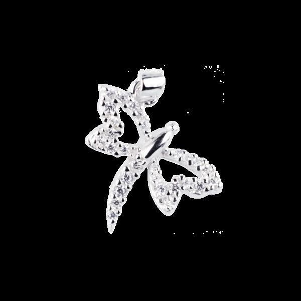 Купити Підвіска стрекоза оздоблений фіанітами 6П145-А