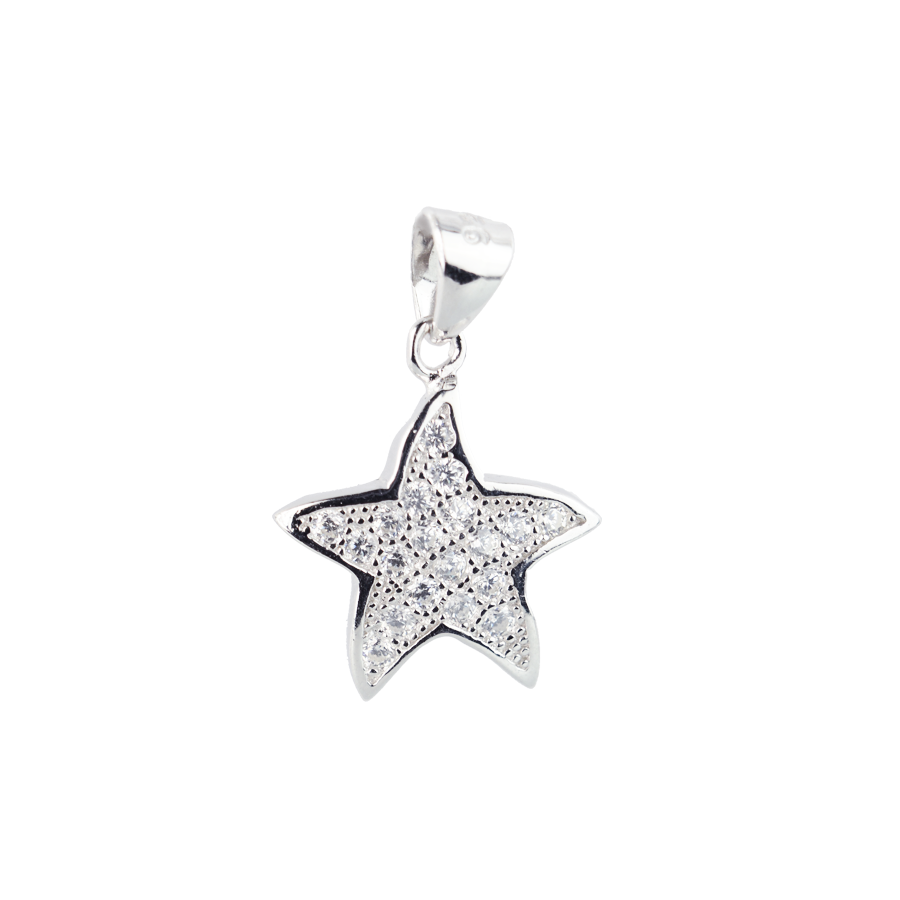 Купити Підвіску зірка оздоблено фіанітами 6П150-В