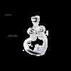 купити Підвіску фантазія з фіанітами 6П160-В, проба 925