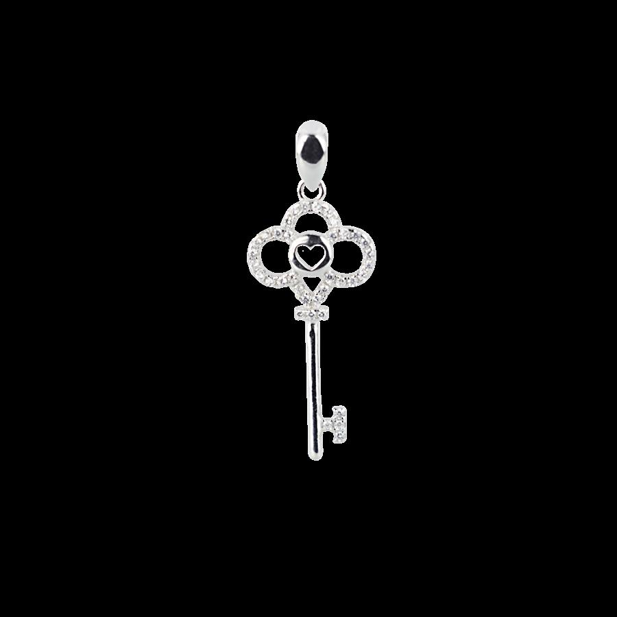 Купити Підвіска ключик в стилі TIFFANY&CO оздоблений фіанітами 6П185-А