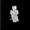 купити Підвіску сова оздоблений фіанітами 7П100-А, проба 925