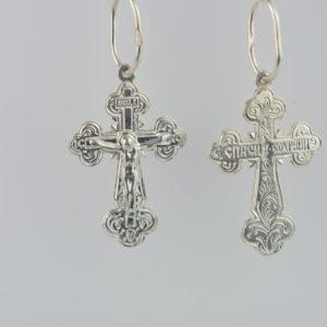 Купити Підвіску хрест П018, пробою 925, срібло для жінок та чоловіків