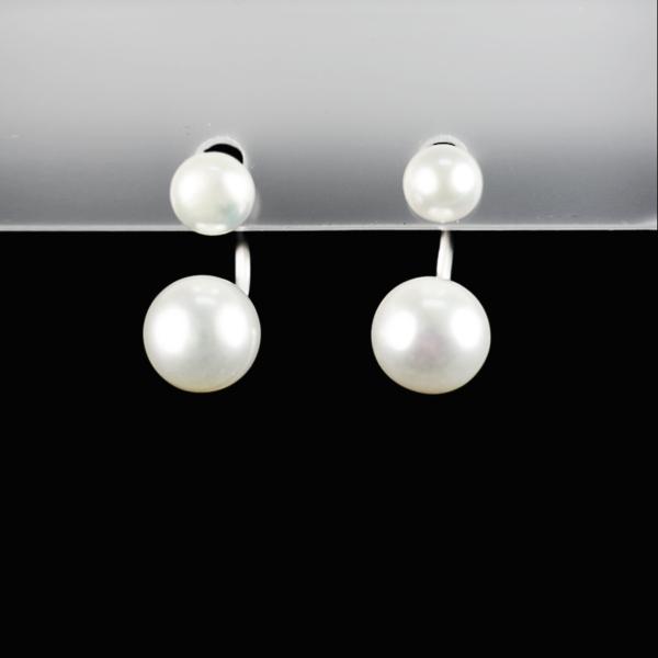 Купити Сережки з перлиною культивованою – пірсінг
