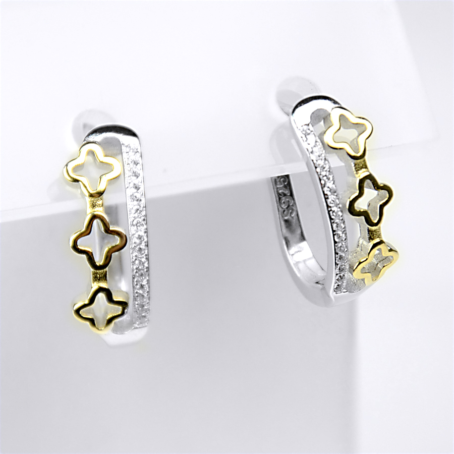 серьги в стиле Louis Vuitton